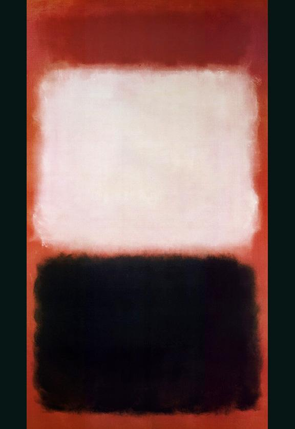 The Black and the White by Mark Rothko