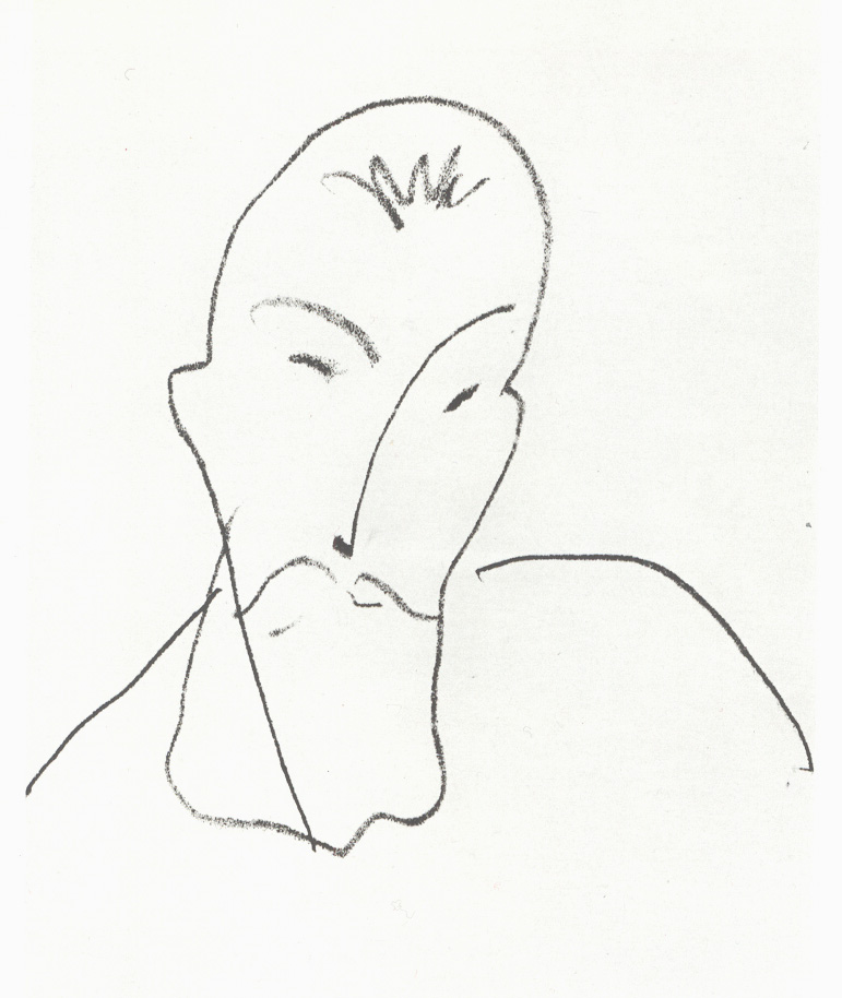 Drawing by Henri Matisse